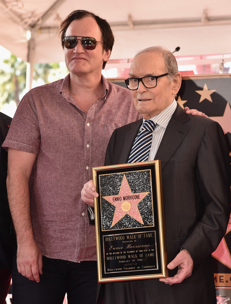 Ennio+Morricone+Honored+Star+Hollywood+Walk