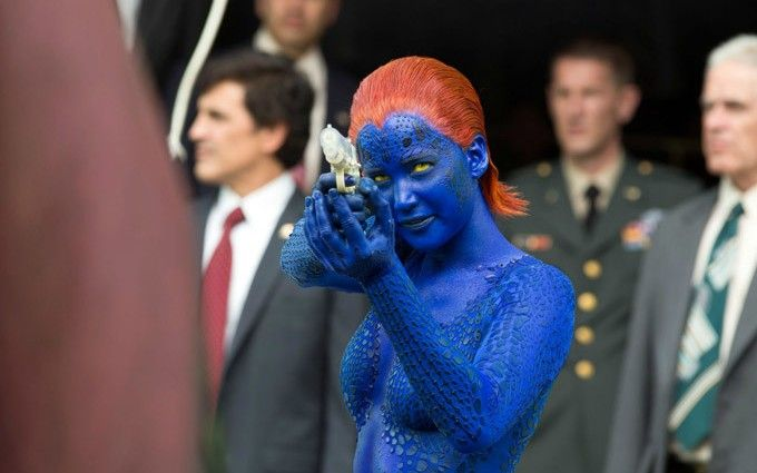 X-Men-Days-of-Future-Past-Mystique-with-water-pistol